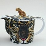 Leopard Teapot and Mug