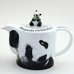 Giant Panda Bear Teapot and Mug