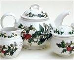 Holly and Ivy Tea Set